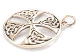 Celtic Cross (Pendant in Bronze)