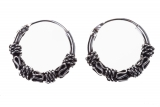 Amika - small hoop earrings (earrings in silver)