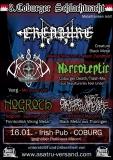 Plakat - 3. Coburger Schlachtnacht (mit Creature, Varg, Nogroth,