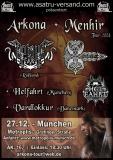 Plakat - Arkona + Menhir Tour 2008