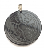 Amulet in the animal style of a decorative plate (Pendant from H