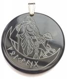 Amulet Freya (Pendant from horn)