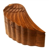 Angel wing (wooden jewelery box)