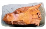 Dragon head - Falor (wooden jewelery box)