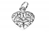 Mirja - Celtic heart (Pendant in silver)