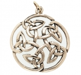 Cailyn - Celtic Flower of Life (Pendant in Bronze)