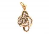 Nicana - Celtic knot (Pendant in Bronze)