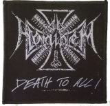 Ad Hominem - Logo Death To All (Aufnäher)