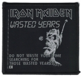 Iron Maiden - Wasted Years (Aufnäher)