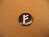 Fehu Rune (Button)