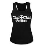 Black Metal Germania Girly Tank-Top-Shirt