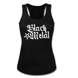 Black Metal + Pentagram [high] Girly Tank-Top-Shirt