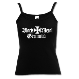 Black Metal Germania - Girly Spaghetti-Strap-Shirt