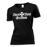 Black Metal Germania Girly T-Shirt