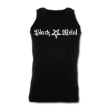 Black Metal + Pentagram [long] Athletic T-Shirt