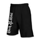 Black Metal + Pentagram [long] Shorts