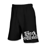 Black Metal + Pentagramm [hoch] Shorts