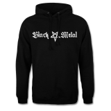 Black Metal + Pentagram [long] Hooded Sweatshirt
