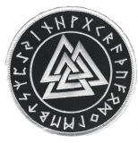 Valknut in the Rune circle (Patch)