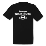 Hooligan Black Metal T-Shirt