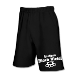 Hooligan Black Metal Shorts