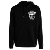 Unholy Black Metal Hooded Sweat Jacket