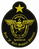 Motörhead - Support Division Patch