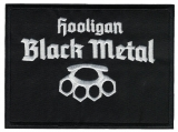 Hooligan Black Metal (Patch)