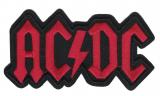 AC/DC - Logo rot (Aufnäher)