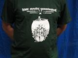 Met macht unbesiegbar (T-Shirt) - limited green shirt