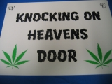 Knocking on Heavens Door (Türschild)