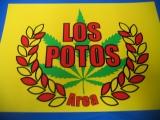 Los Potos Area (Türschild)