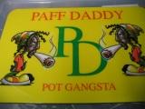 Tisch-Set Paff Daddy (Platz-Set / Platzdeckchen)