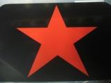 Tisch-Set Roter Stern (Platz-Set Platzdeckchen)