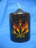 Burning Leaf (Kerze)