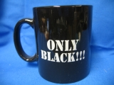 Only Black (Tasse)