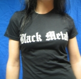 Black Metal  (Girly Shirt)