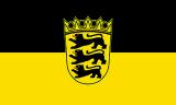 LÄNDERFAHNE / BADEN WÜRTTEMBERG