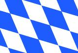 LÄNDERFAHNE / BAYERN