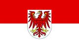 LÄNDERFAHNE / BRANDENBURG