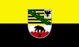LÄNDERFAHNE / SACHSEN ANHALT