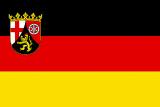 LÄNDERFAHNE / RHEINLAND PFALZ