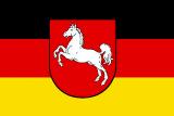 LÄNDERFAHNE / NIEDERSACHSEN