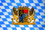 LÄNDERFAHNE / BAYERN WAPPEN